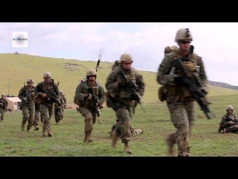 US Marine 1st Reconnaissance Battalion Combined Arms Raid