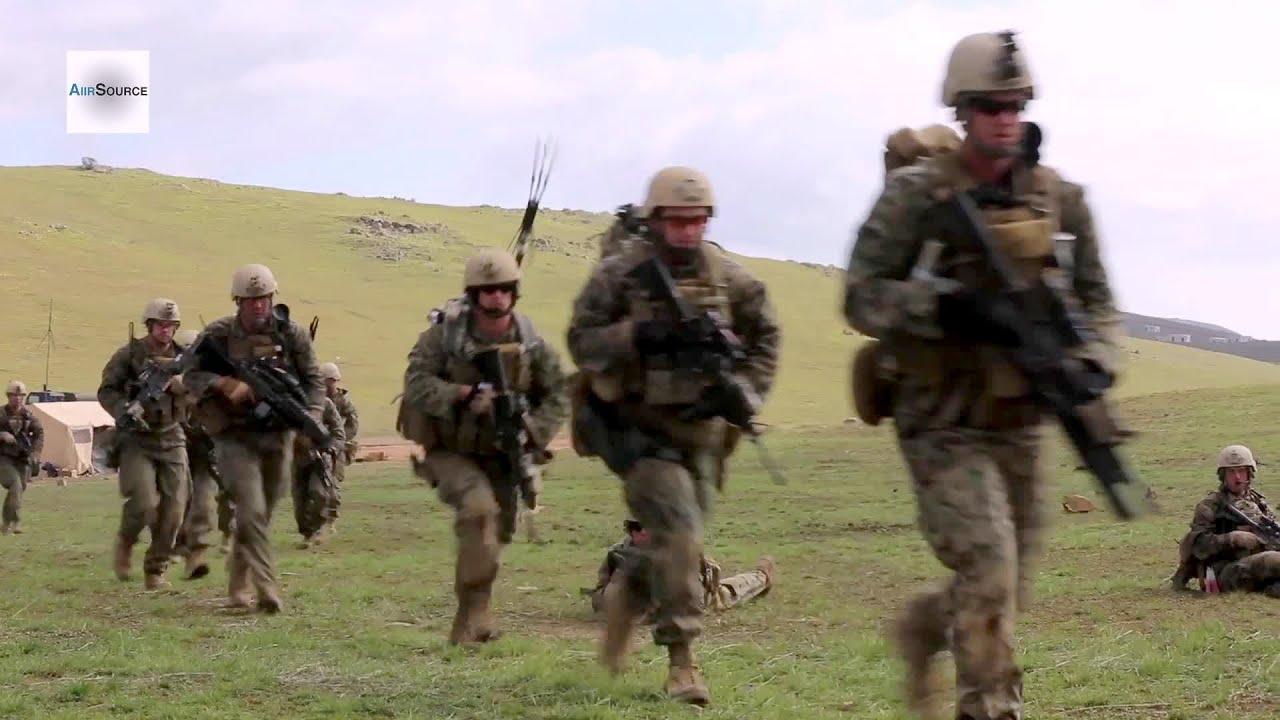 us marine 1st reconnaissance battalion combined arms raid youtube