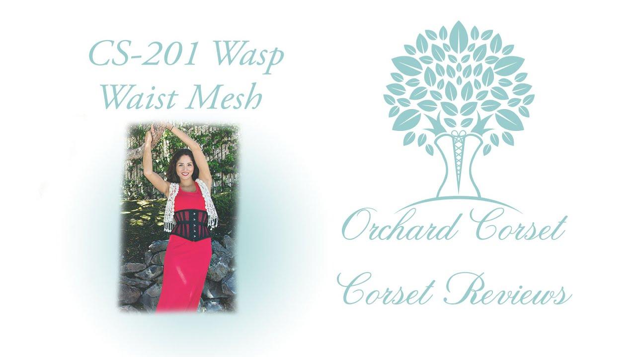 aedd95b8d5a CS-201 Wasp Waist Mesh Corset-YES to MESH! Orchard Corset