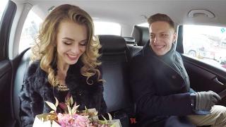 Такси Пятница: Пять романтических свиданий.(В преддверие 14 февраля мы выбрали 10 счастливчиков из которых сформировали 5 пар. Знакомство проходило в..., 2017-02-15T09:09:30.000Z)