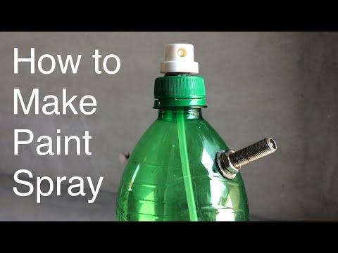 Homemade Air Paint Spray gun