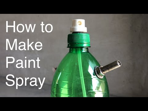 Homemade Air Paint Spray Gun