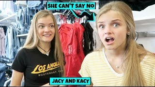 24 Hours Sister Can't Say No ~ Kacy's Turn ~ Jacy and Kacy