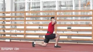 Прыжки в разножке, низкая смена ног. Упражнение для прыжка