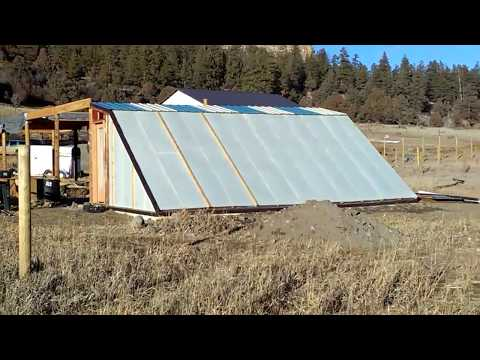 Geothermal Greenhouse Update - Bottle Bricks - Climate Battery System