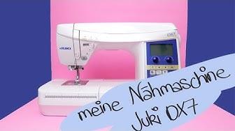 Meine neue Nähmaschine: Juki DX7