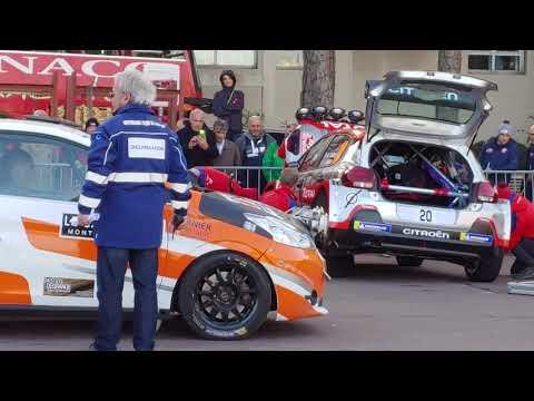88 Rallye Montecarlo 2020 parco chiuso 23 gennaio