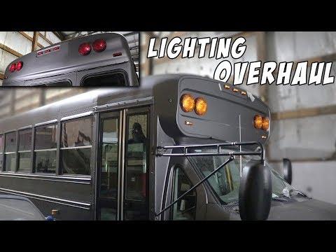 Adventure Bus Build Pt 8 - Electrical Fix & Lighting Overhaul!