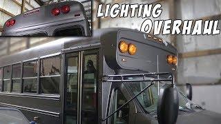 adventure bus build pt 8 electrical fix lighting overhaul