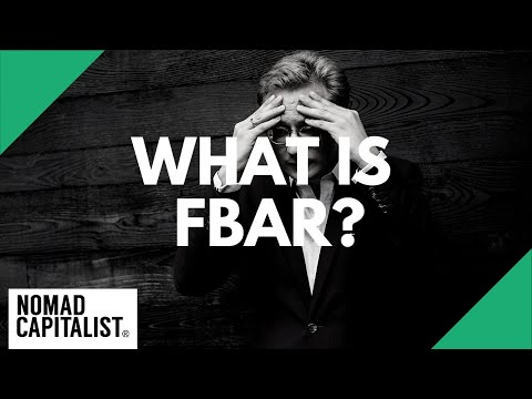 What is FBAR?