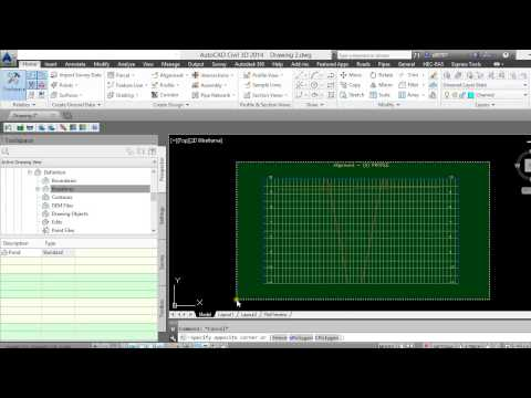 Autocad civil 3d grading slope hatch solid doovi for Pond design in civil 3d