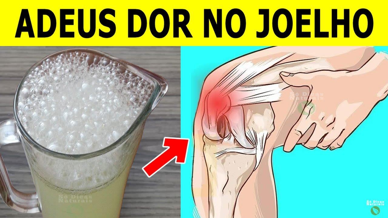 Em 7 DIAS Fortalece a Cartilagem e ELIMINA a DOR NO JOELHO Com Esta Bebida Natural!