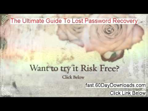 The Ultimate Guide To Lost Password Recovery Download PDF Free of Risk
