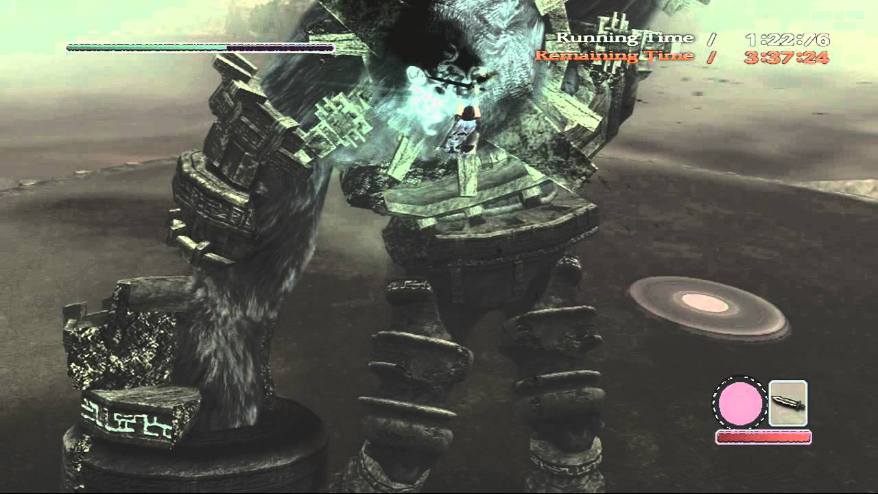 Shadow of the Colossus PS3 - Hard Time Attack 3 Gaius HTA ...