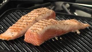 Honey Wine Glazed Grilled Salmon