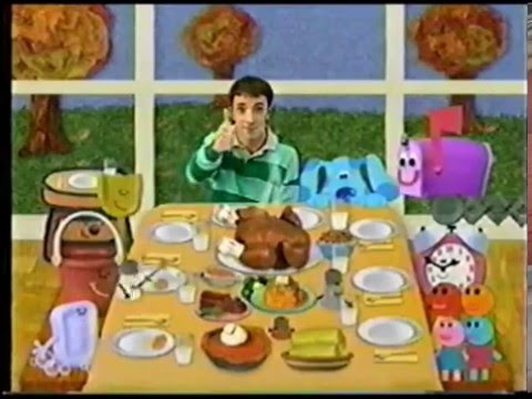 Blue's Clues Blue's Thank You Monday (Partially Damaged ...
