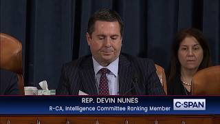 Rep. Devin Nunes Opening Statement