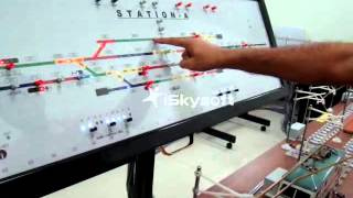 Rail Signalling Working Model - XVIII