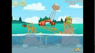 Angry Birds Seasons Piglantis 2-6 100% Feather Mighty Eagle Walkthrough