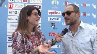 Intervista Claudio Santamaria - Giffoni Film Festival