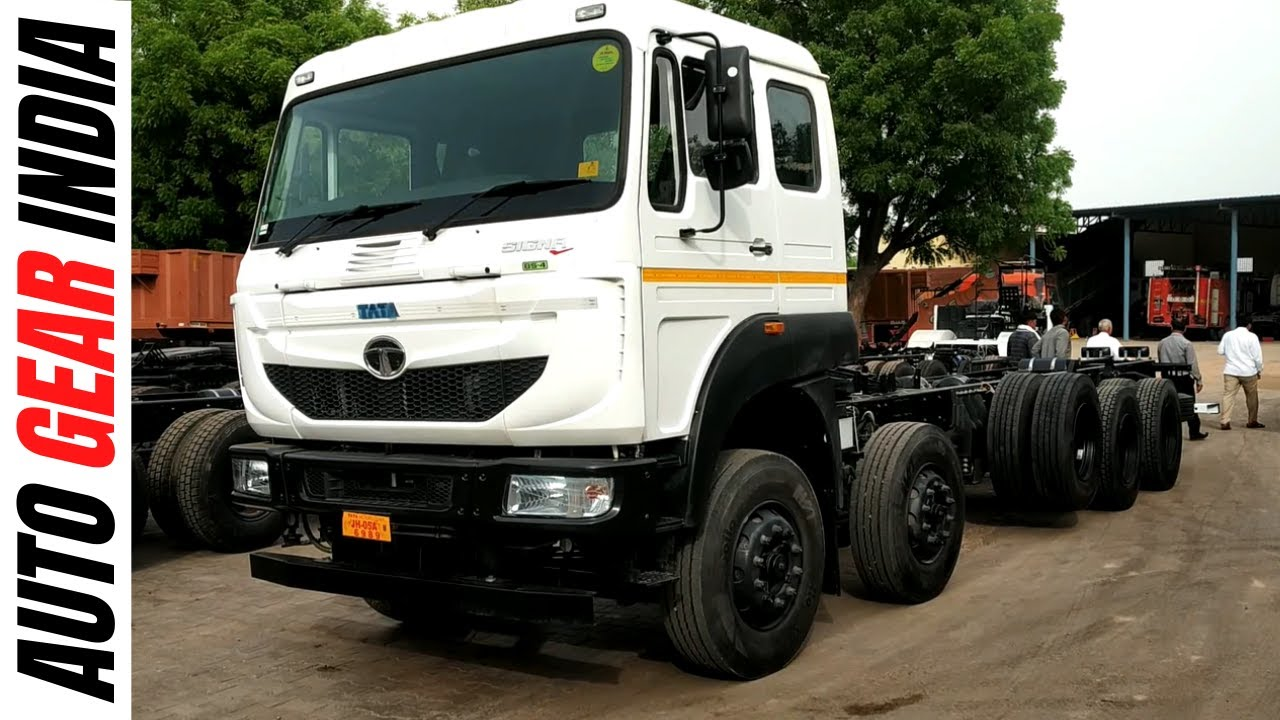 Tata 4823 16 Wheeler 2019 New Model Review by #autogearindia - Thủ