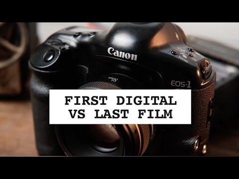 Photo Duel #44: First Canon DSLR Vs Last Canon Film SLR [EOS 1V Vs EOS 5D]
