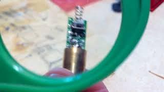Ремонт зелёного лазера (часть 1)