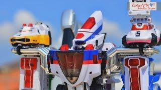 [TMT][103] Review DX DekaBike Robo! Super Dekaranger Robo! 特捜戦隊デカレンジャー! Deltamax Megazord! thumbnail