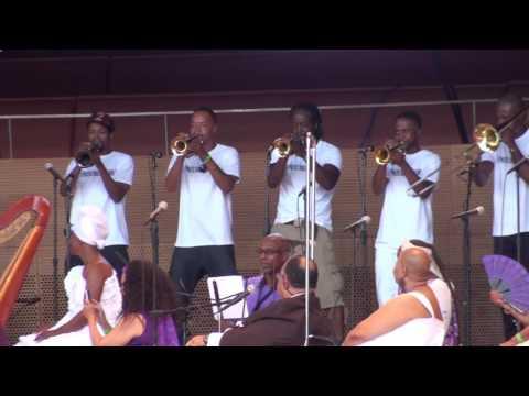 Hypnotic Brass @ Millennium Park Chicago 6/20/16