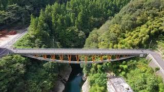 世界的に優れたコンクリート構造物 青雲橋・三好市山城町