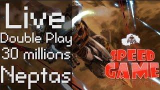 Speed Game: Live Ikaruga Double Play (un joueur contrôle les 2 vaisseaux) 30 millions de points !
