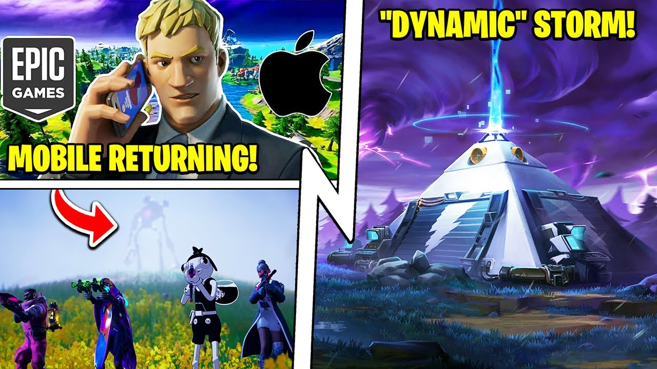 Fortnite's STORM Is Changing, Mobile Returning, Tame & Ride Monsters!