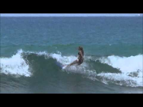 BonzaSlidin in SriLanka, JenPen x Asymmetric Seduction Surf Co Bonzer 5 fin