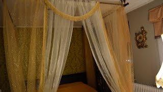 видео Как сделать балдахин над кроватью своими руками?