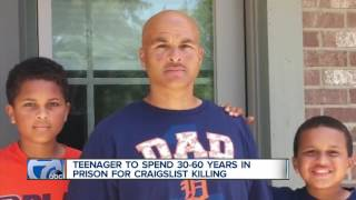 Teenager to spend 30-60 years in prison for Craigslist killing