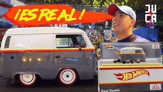 EL JUGUETE DE LA COMBI ES UNA LOCURA !! (12º Salón Hot Wheels) | JUCA
