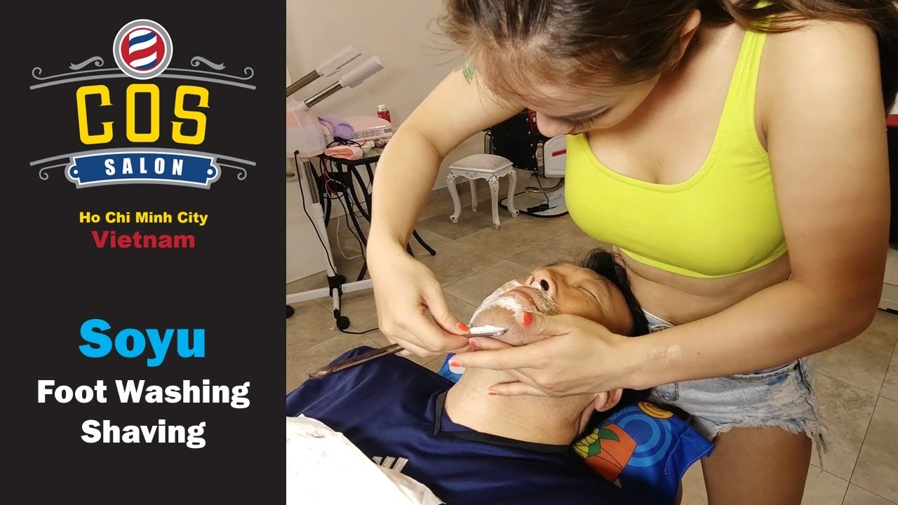 COS Vietnam Barber Shop – Ho Chi Minh City, Vietnam: Soyu Part 1