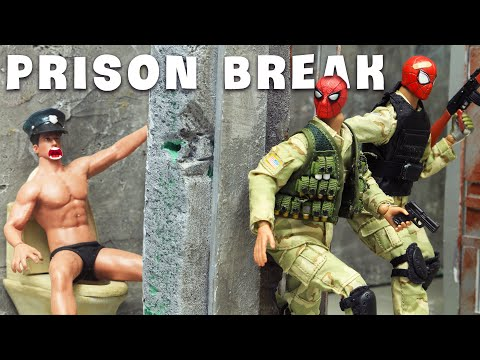 Download Spider-man And Plan Prison Break With Spidey-bro Fail | Figure Stopmotion