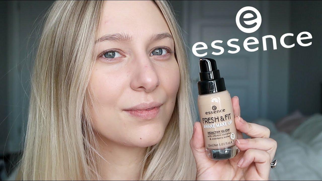 New Essence Fresh Fit Awake Foundation Youtube
