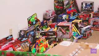 IZEA Collects Toys For Baby DJ This Holiday Season