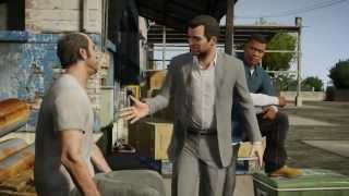 Grand Theft Auto 5 - Gameplay Trailer (Amazing Graphics)