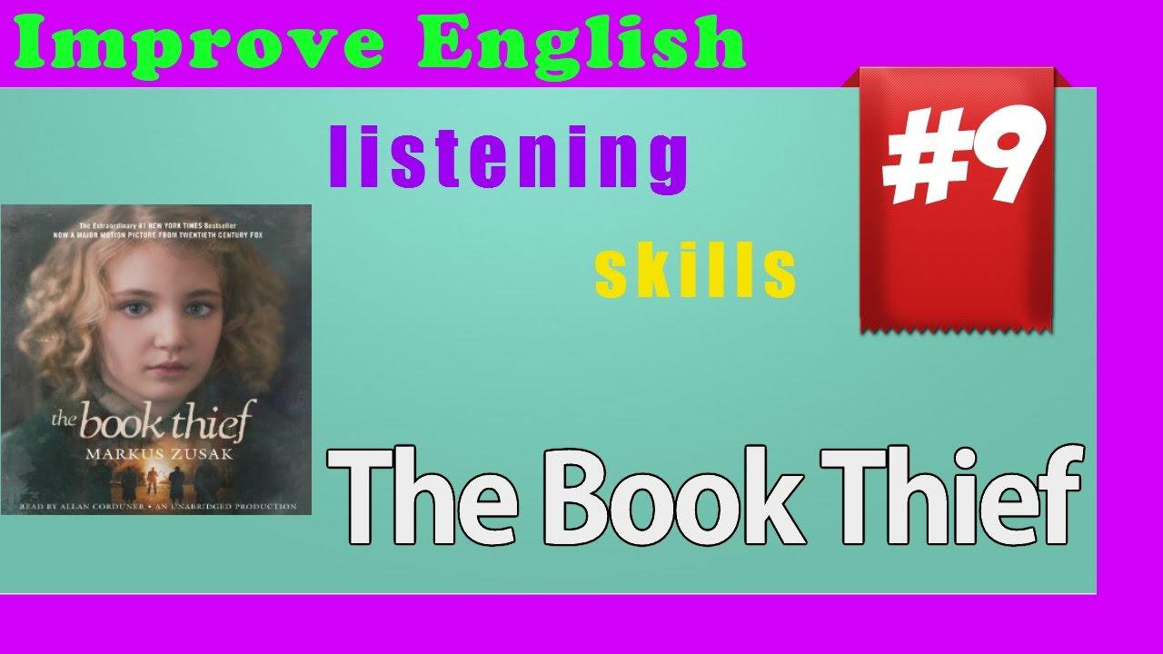 Improve English listening skills - Short Story 09 - The Book Thief