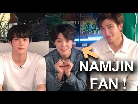 NamJin / 랩진  Jimin ships Namjin 👍💓