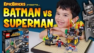 LEGO Batman vs Superman Unboxing and Review - Clash of the Heroes 76044