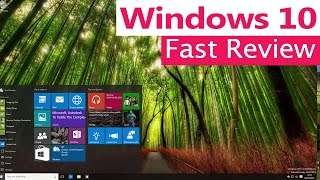 Tech Sinister - Windows 10 // Fast Review - Tips and Hints