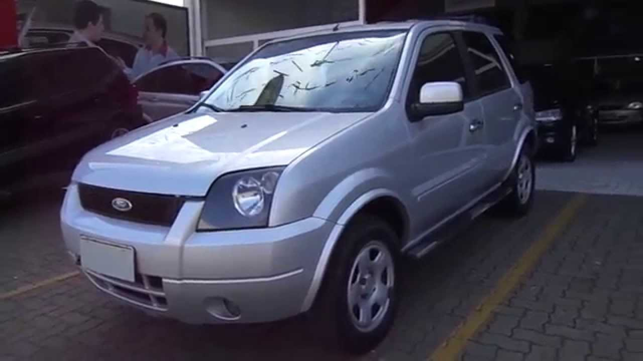 Ford ecosport xls 1 6 8v flex 2006