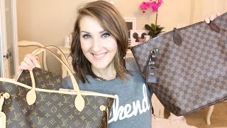 Lv Neverfull Gm Vs Mm Review Comparison Vloggest