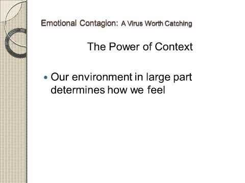 Emotional Contagion R