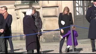 Prinsessan Estelle charmade på Kronprinsessans namnsdag