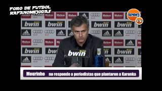 Mourinho no contesta a periodistas por el plantón a Karanka